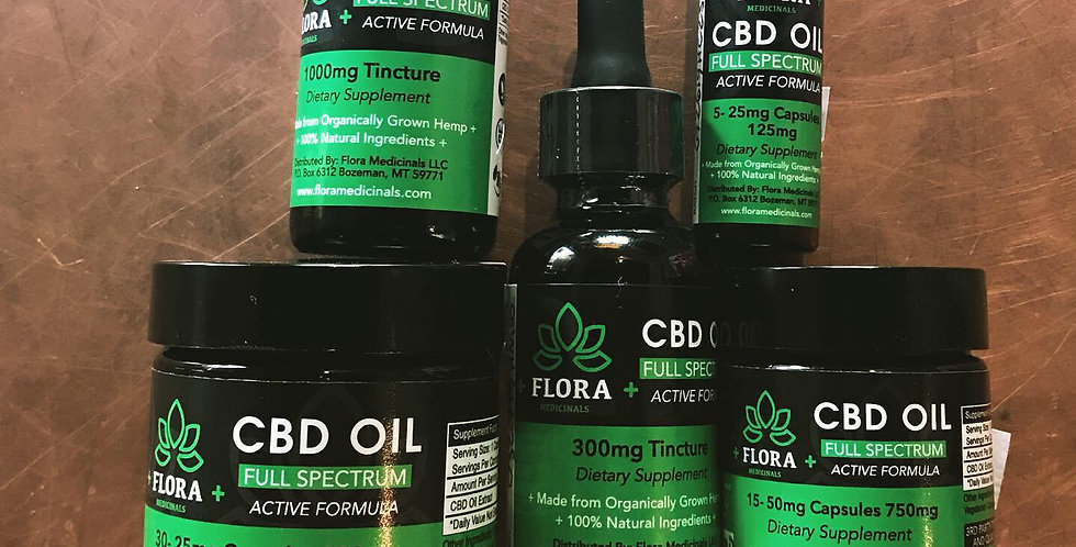 Flora Medicinals CBD Oil