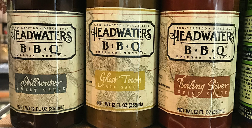 Headwaters BBQ Sauce