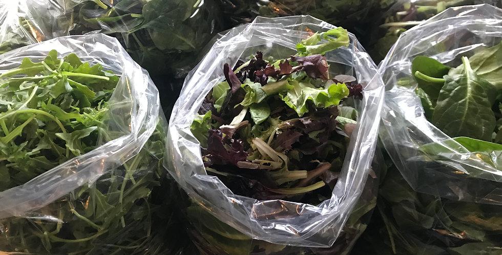 Spinach or Arugula