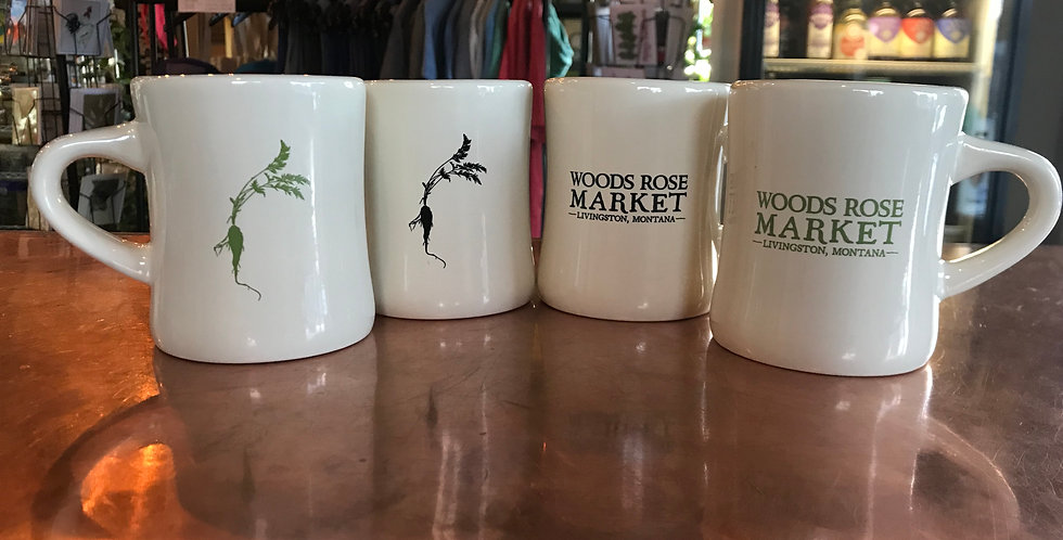 Woods Rose Diner Mugs
