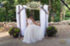 Foothills Farm creekside wedding