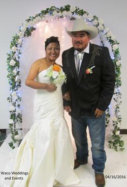 Fernando and Sandra 04-16-2016