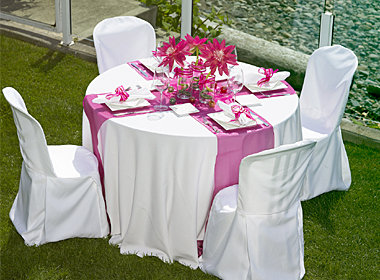 Satin Table Runners - 5 Count