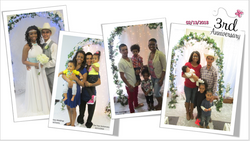 salamon and anquenette martinez 3rd anniversary