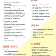 Checklist beperking en chronische ziekte