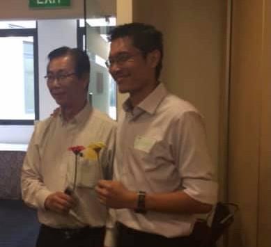 Most Inspiring Caregiver - Top 3 Awardees - Mr. Yeo Yan Teng