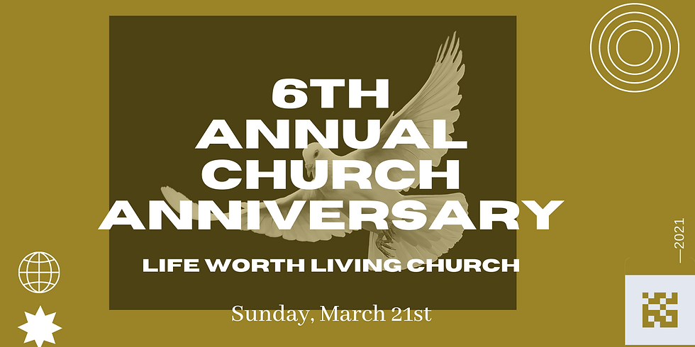 6th Annual Church Anniversary