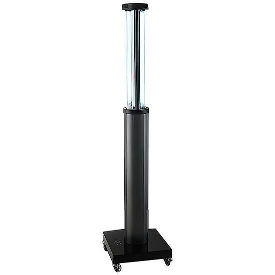 150W UV-C Automatic Telescoping Mobile Room Disinfection Device