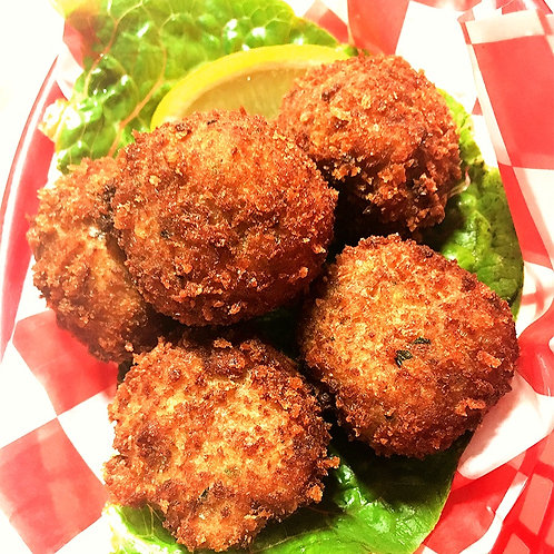 24 Count: 1oz Ike's Famous Crab Balls