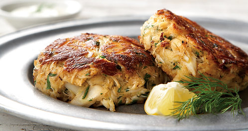 16 count: 3oz Ike's Famous Crabcakes