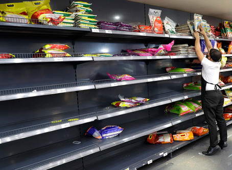 U.S. facing food shortages, but they will be temporary