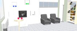 Zone 1 salle attente