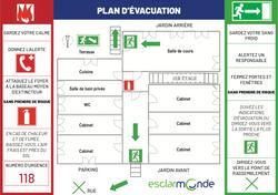 Création de document d'évacuation aux normes