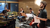 Les musiciens du prochain train au festival off d'Avignon 2014 au théâtre notre dame