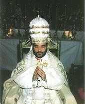 Clemente sul trono