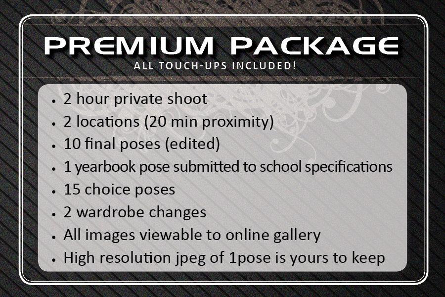Sr. Picture Premium Package