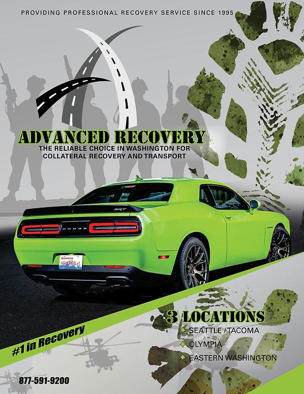 Advance Recovery Tradeshow Poster