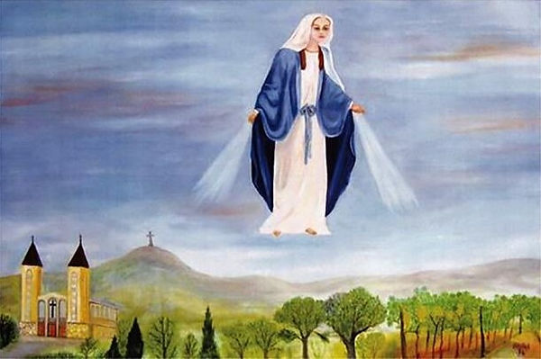 La Madonna su Medjugorje, di Vlado Falak