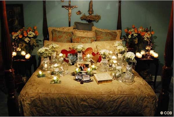 Il letto delle apparizioni