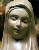Madonnina di Civitavecchia ripulita