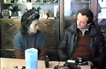 Vicka con l'ortopedico Luciano Cappello