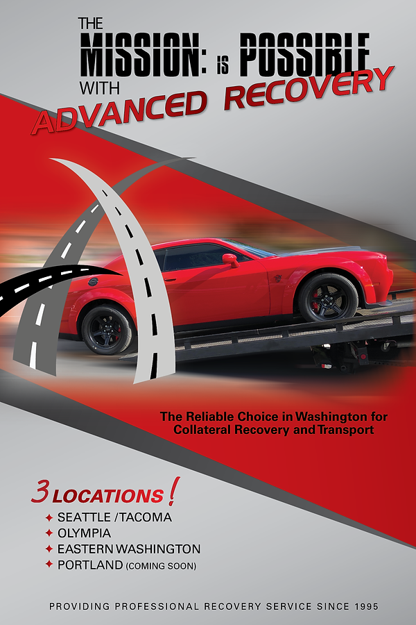 Advance Recovery Trade Show Poster