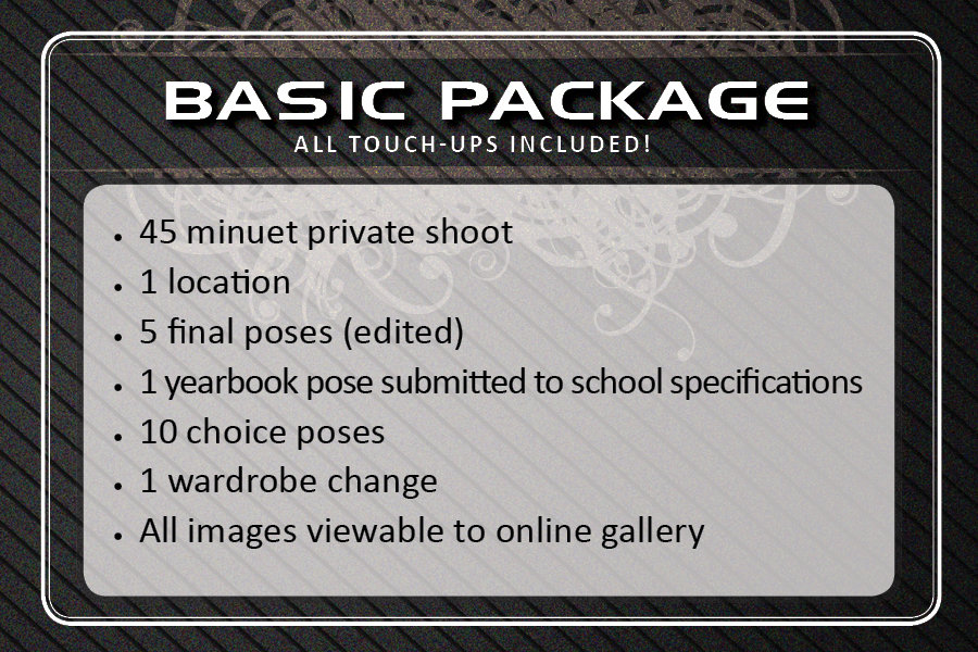 Sr. Picture Basic Package