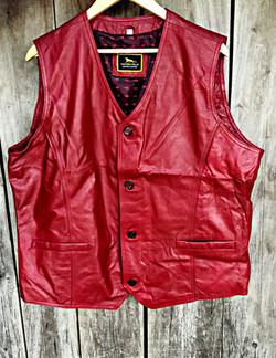 Waist Leather Jacket