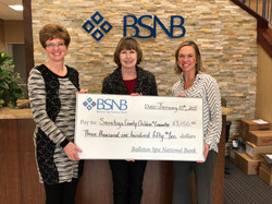 A Generous Gift from BSNB