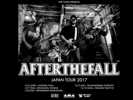 After The Fall(アメリカ) Japan tour 12月開催決定