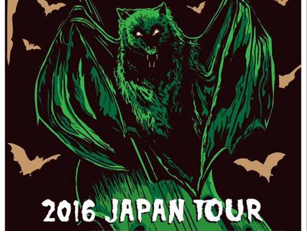 【11/4-11/10】The Wrath (Australia) Japan Tour 2016