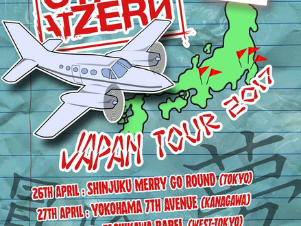 Start At Zero (from Slovenia) Japan Tour 2017 4月に開催決定!
