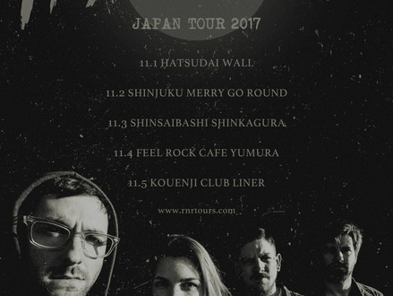 Heartsounds (アメリカ) 2度目の来日ツアー開催 11月決定!
