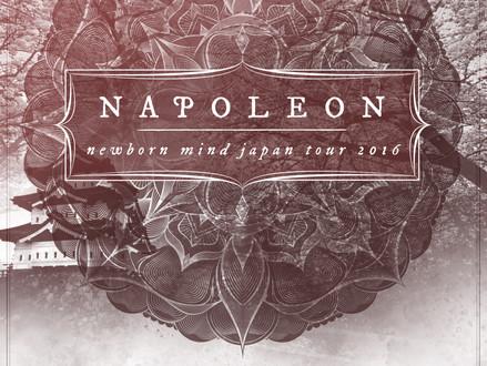 【10/12-10/16】Napoleon (UK) Japan Tour 2016