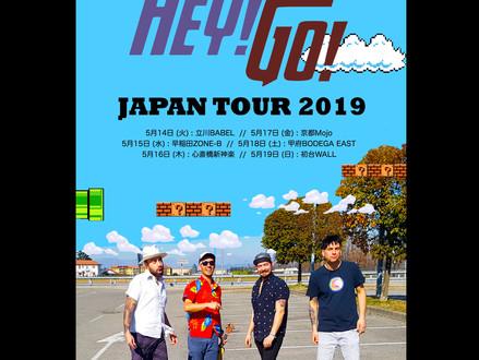Wasei Hey! Go! (イタリア) Japan Tour 2019 5月開催決定!