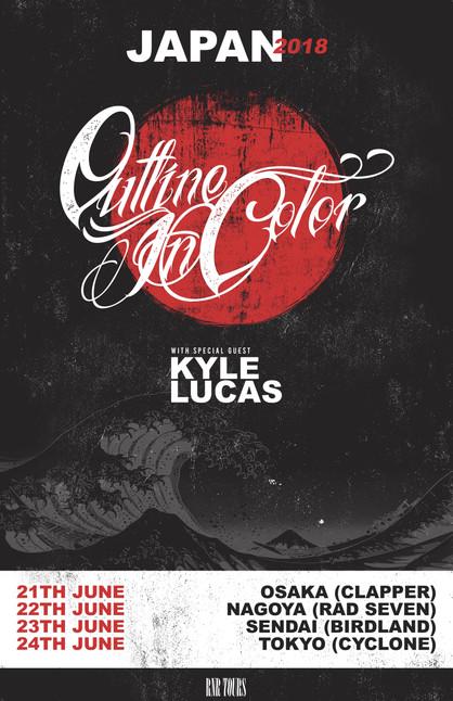 Outline in Color x Kyle Lucas (アメリカ) 2018年6月来日決定!