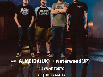 Belvedere (カナダ) Japan Tour 2018年4月開催決定!