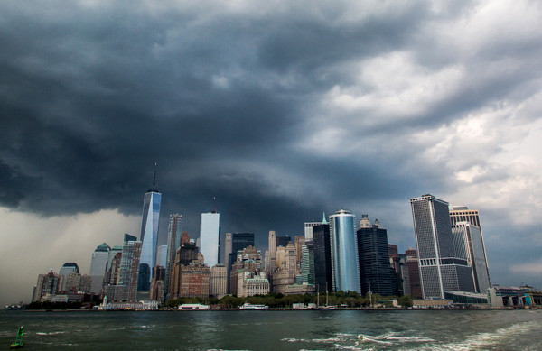 Storm over Manhatten