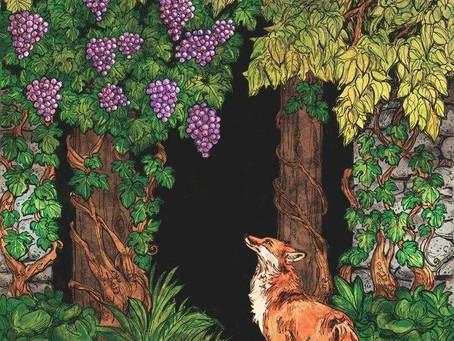 """""""Лиса и виноград"""". Одна из самых незамысловатых, но важных басен"""