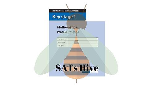 SATs Hive [KS1 2019 paper 2 - reasoning]