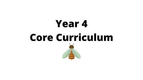 Year 4 Core Concept Lessons