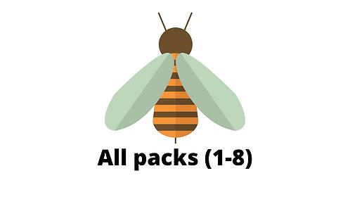 All Packs (1-8) - Arithmetic and reasoning tasks