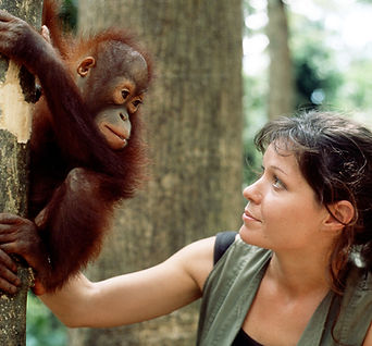 Charlotte and Young Orang.JPG