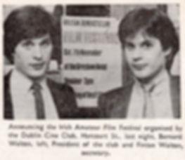 Evening Press Nov 1981 Bernard Walton