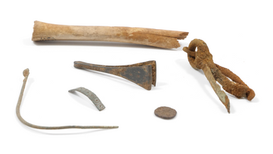 Saxon / early Medieval period items