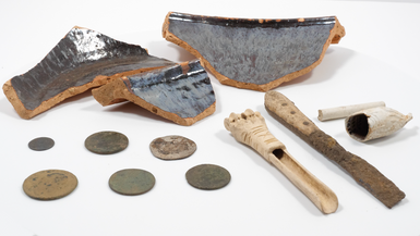 Post medieval items