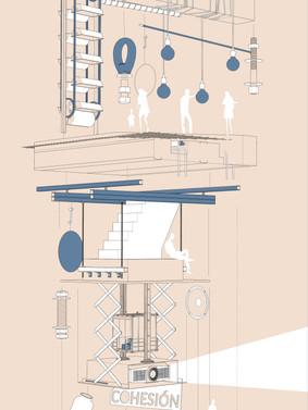 Cabinet of Curiosity Axonometric
