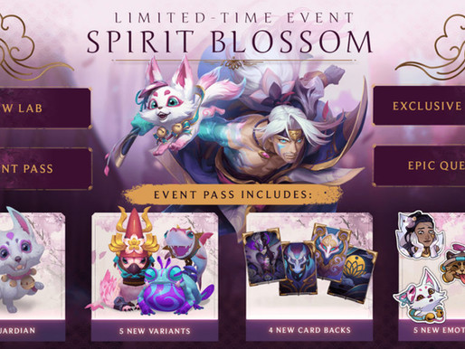Legends Of Runeterra Patch 1.6 And The All New Spirit Blossom Event