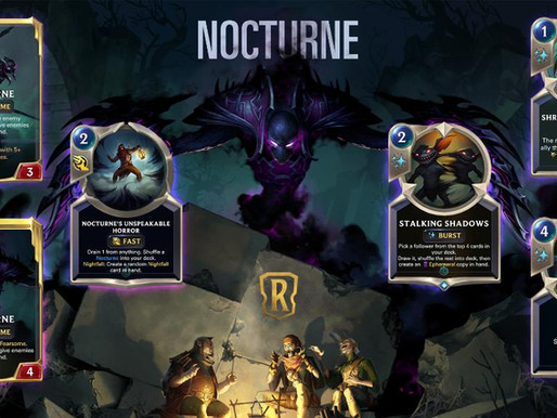 Legends Of Runeterra: Nocturn Is Here! So Please, Don't Worry About Blocking.