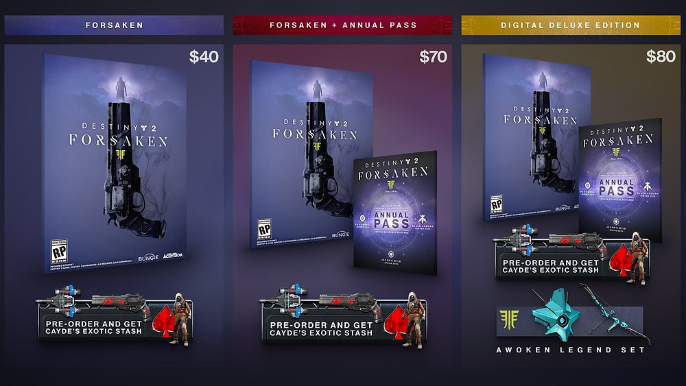 Destiny 2: Forsaken Annual Pass
